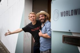 Gilles Peterson with Gabriele Poso